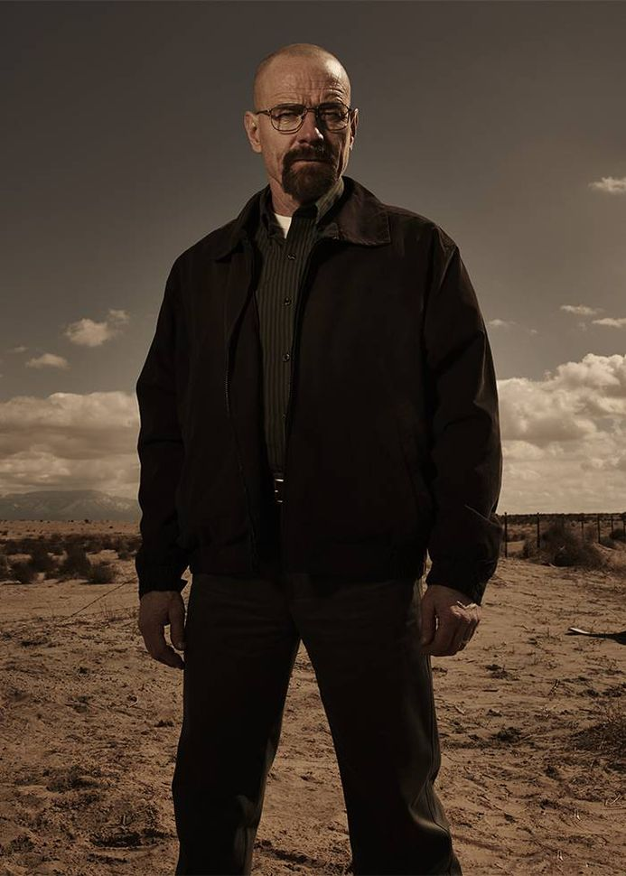 Breaking Bad dizisinde Walter White'ı Bryan Cranston canlandırmıştı.