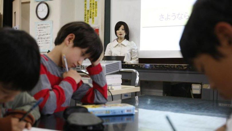 Teknoloji nereye ilerliyor? Robot öğretmenler geliyor...