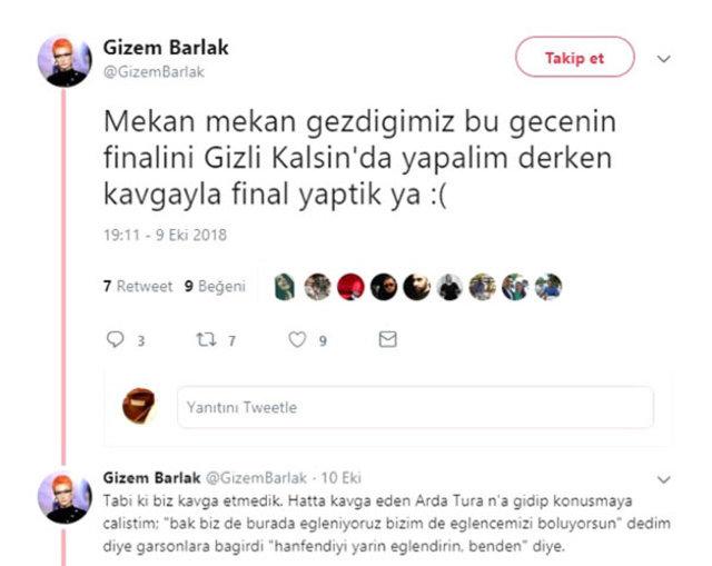 Model Gizem Barlak'tan Arda Turan iddiası - Magazin haberleri