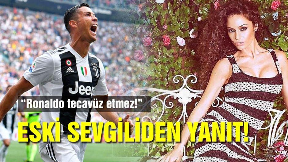 Ronaldo'nun eski sevgilisinden destek!