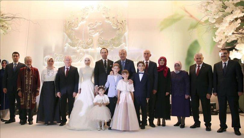 Başkan Erdoğan Saide Simin Mercanın nikah şahidi oldu 84