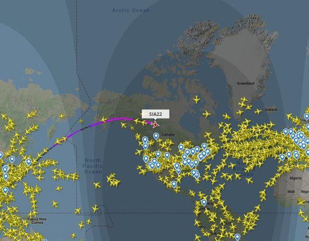 Bir yolcu uçağının optimum uçuş yüksekliği