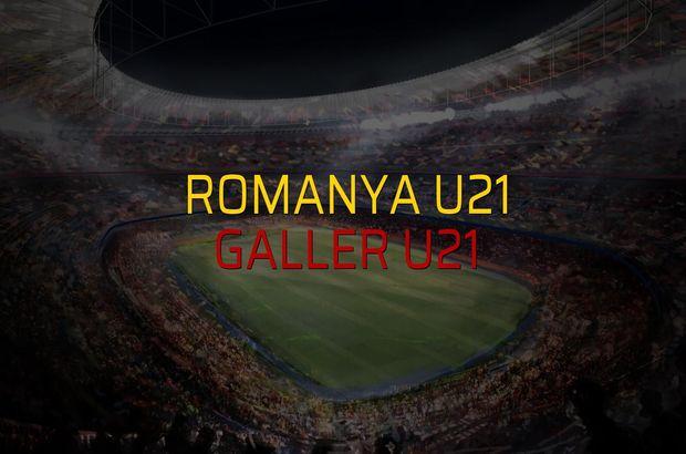 Romanya U21: 2 - Galler U21: 0