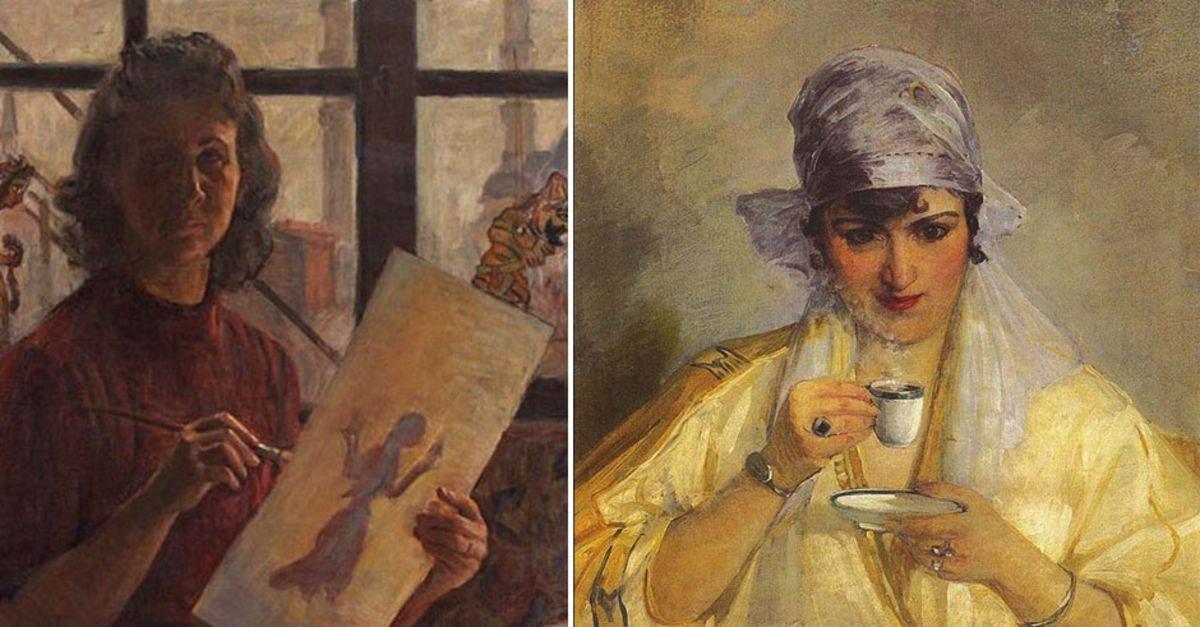 Tarihe Iz Bırakmış Türk Kadın Ressamlar Kültür Sanat Haberleri