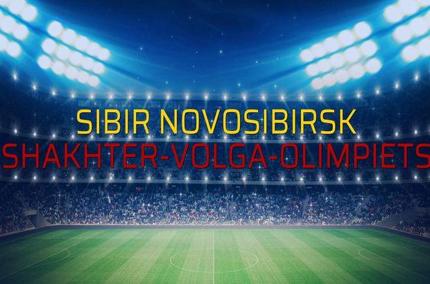 Sibir Novosibirsk: 0 - Shakhter-Volga-Olimpiets: 0 (Maç sonucu)