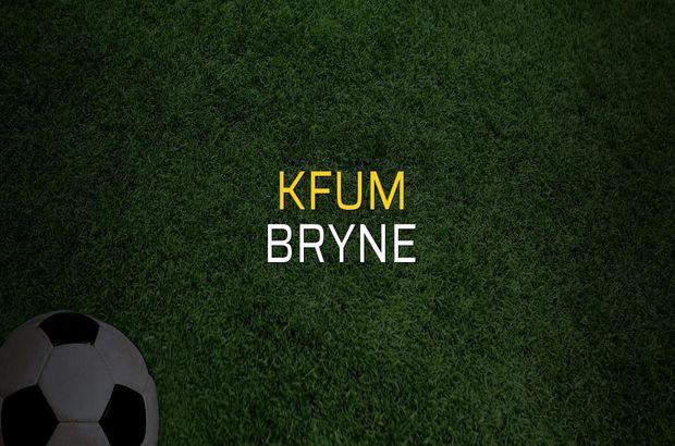 Maç sona erdi: KFUM: 1 - Bryne:1