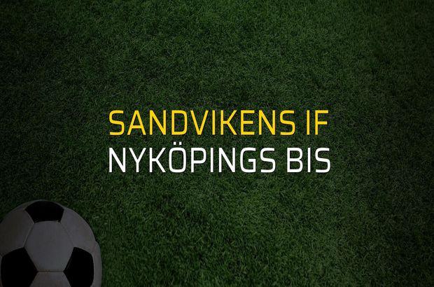 Sandvikens IF: 5 - Nyköpings BIS: 0 (Maç sonucu)