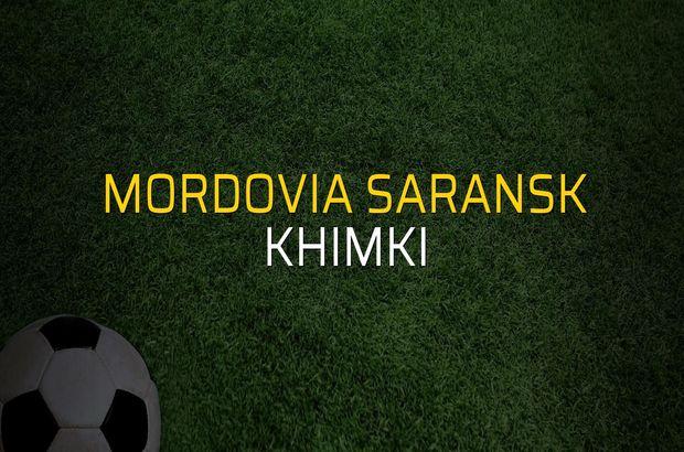 Mordovia Saransk: 1 - Khimki: 1 (Maç sonucu)