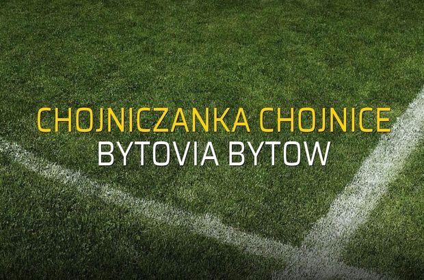 Maç sona erdi: Chojniczanka Chojnice: 1 - Bytovia Bytow:1