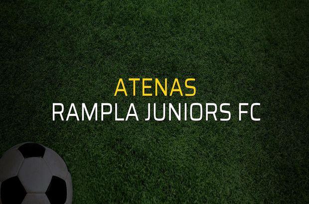 Maç sona erdi: Atenas: 2 - Rampla Juniors FC:1