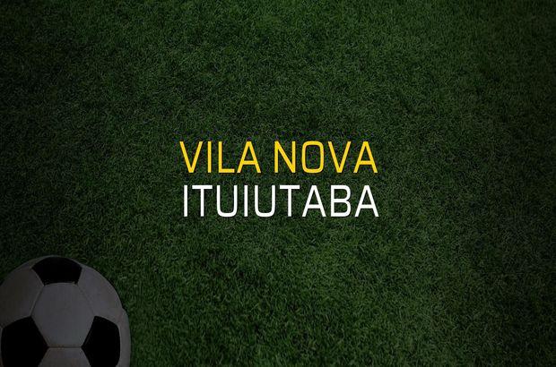 Vila Nova: 2 - Ituiutaba: 0 (Maç sonucu)