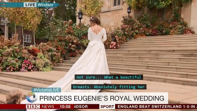 İngiliz Kraliyet düğününde altyazı skandalı