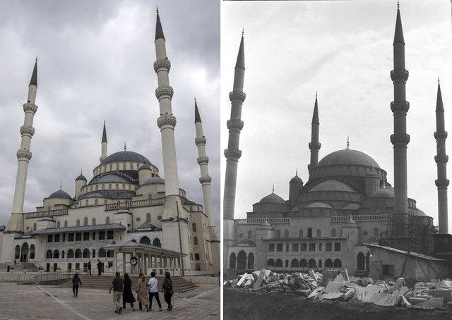 Başkent Ankara'nın dünü ve bugünü