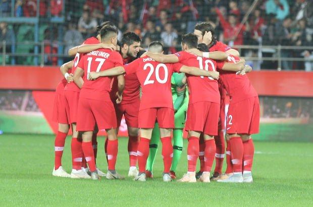 A Milli Futbol Takımı UEFA Uluslar Ligi