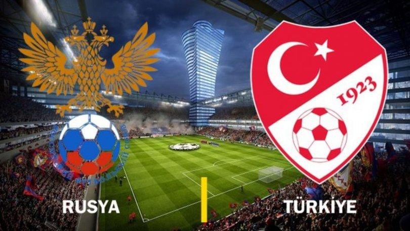 Rusya Türkiye UEFA Uluslar Ligi Maçı