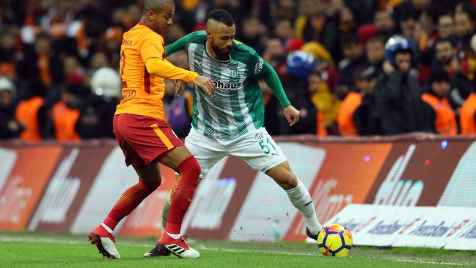 Bursa'nın Galatasaray'a karşı yüzü gülmüyor