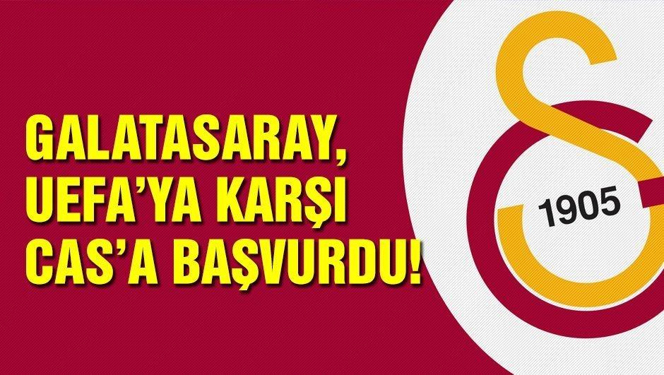 Galatasaray, CAS'a başvurdu!