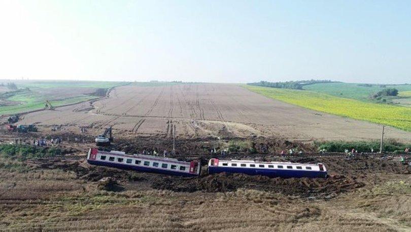 Işte çorludaki Tren Kazasında Bilirkişi Raporuna Yansıyan