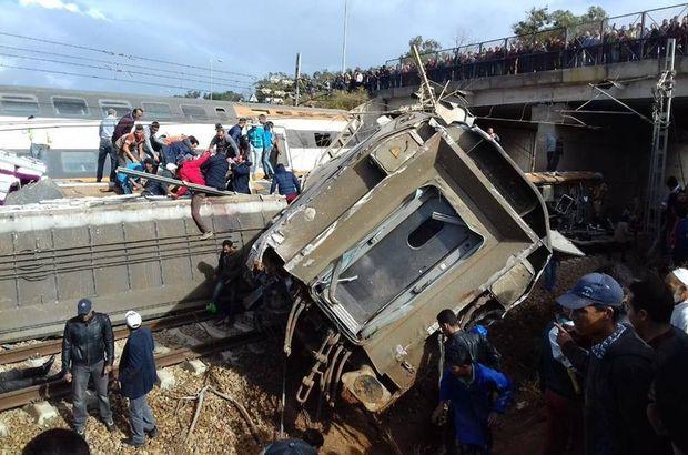 Fas'ta tren kazası: 100'e yakın yaralı!