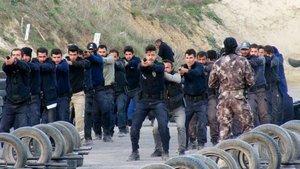 İstanbul'da komando eğitimi aldılar!