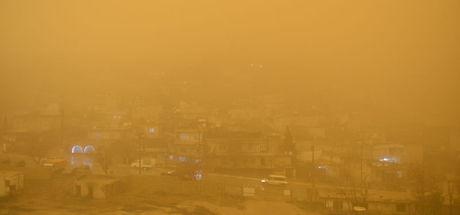 Toz taşınımı şehirlerdeki hava kirliliğini artırdı