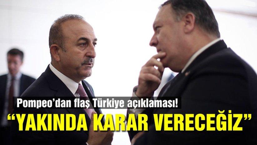 Pompeodan Türkiye açıklaması!