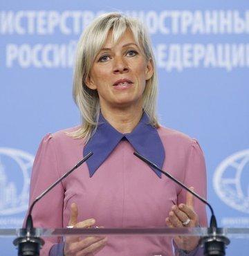 Rusya Dışişleri Sözcüsü Mariya Zaharova, ABD