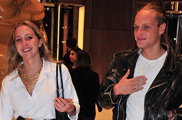 Mustafa Koç'un kızı yeni sevgilisiyle görüntülendi