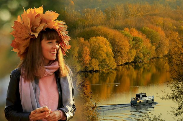 Rusya'da sonbaharın renkleri büyüledi