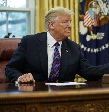 Trump tehdit etti, sınıra yüzlerce polis gönderildi!