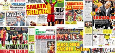 Günün spor manşetleri