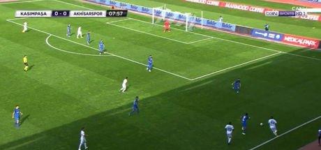 Kasımpaşa - Akhisarspor maçında VAR arızası