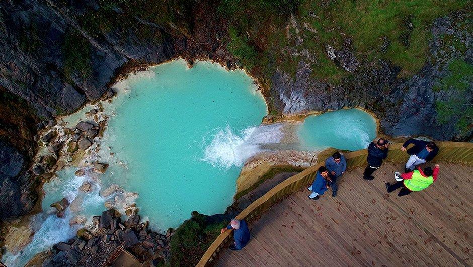 Mavi cennet! Üstelik Türkiye'de