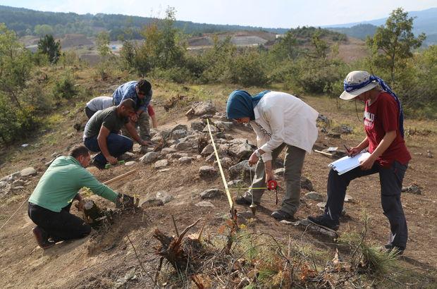 Kastamonu'da Karadeniz'in ilk taş atölyesine rastlandı