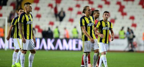Fenerbahçe yine kayıp!