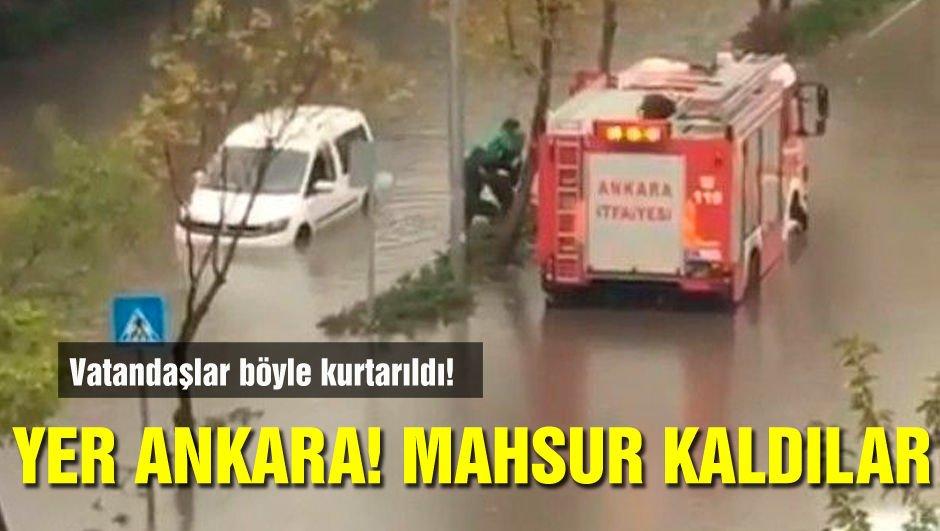 Yer: Ankara! Mahsur kaldılar