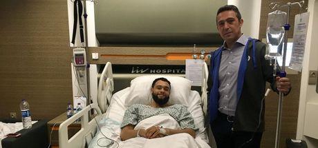 Ali Koç, Ennis'i ziyaret etti