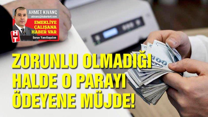 Zorunlu olmadığı halde o parayı ödeyene müjde!
