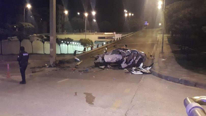 Ankara'da trafik kazası! 2 kişi hayatını kaybetti