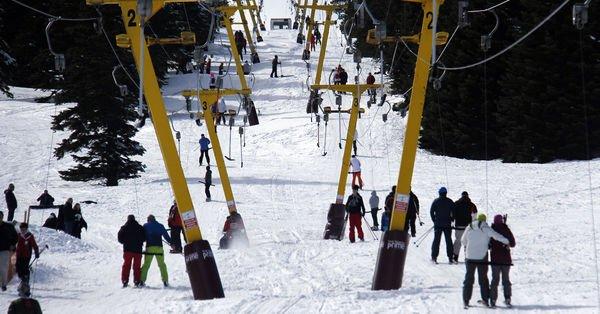 Kış turizmi için oteller dolmaya başladı