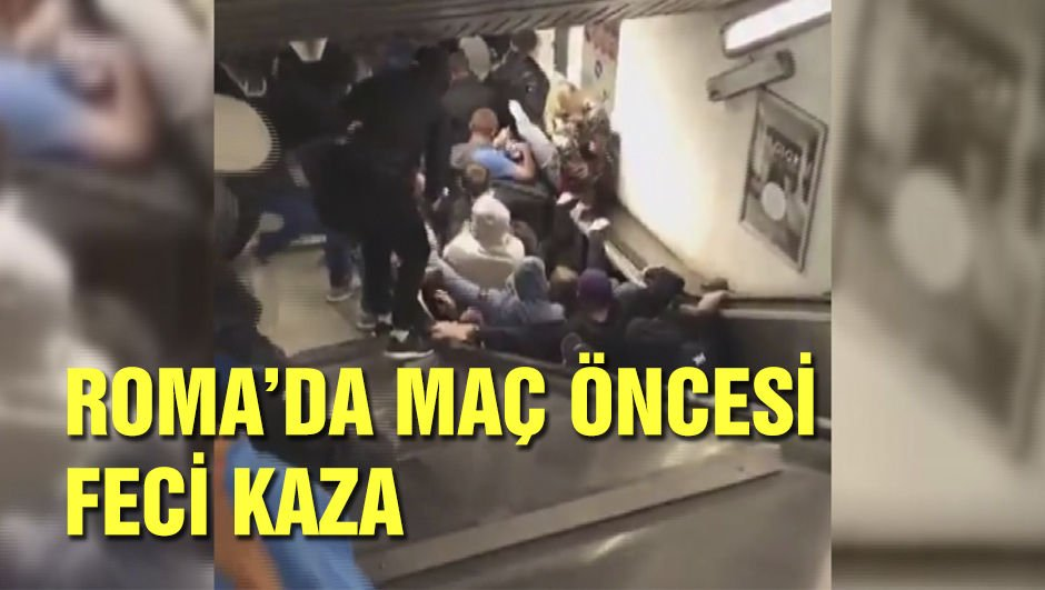Roma - CSKA Moskova maçı öncesi feci kaza!