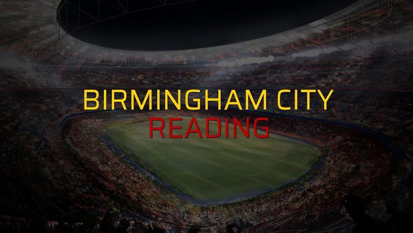 Birmingham City: 2 - Reading: 1