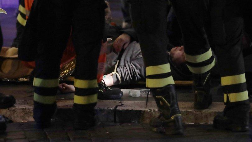 Roma'da yürüyen merdiven çöktü: Çok sayıda yaralı var!