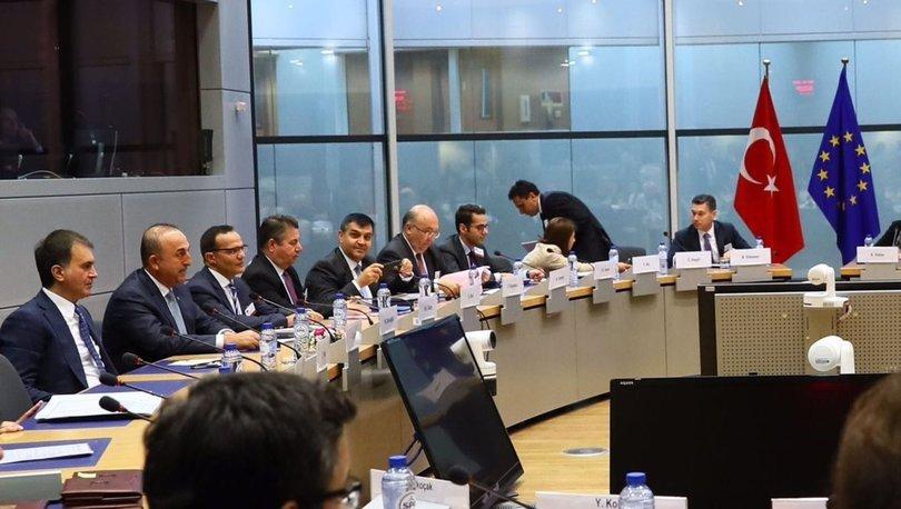 Türkiye ile AB arasında siyasi diyalog toplantısı Ankara'da