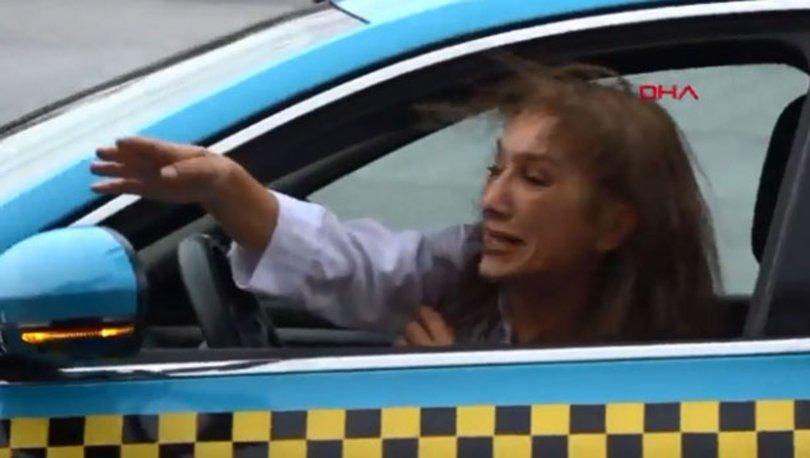 Dolandırılan taksi şoförü gözyaşlarına boğuldu