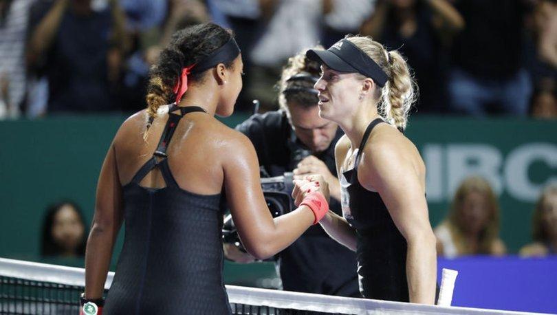 Angelique Kerber Naomi Osaka WTA Finalleri