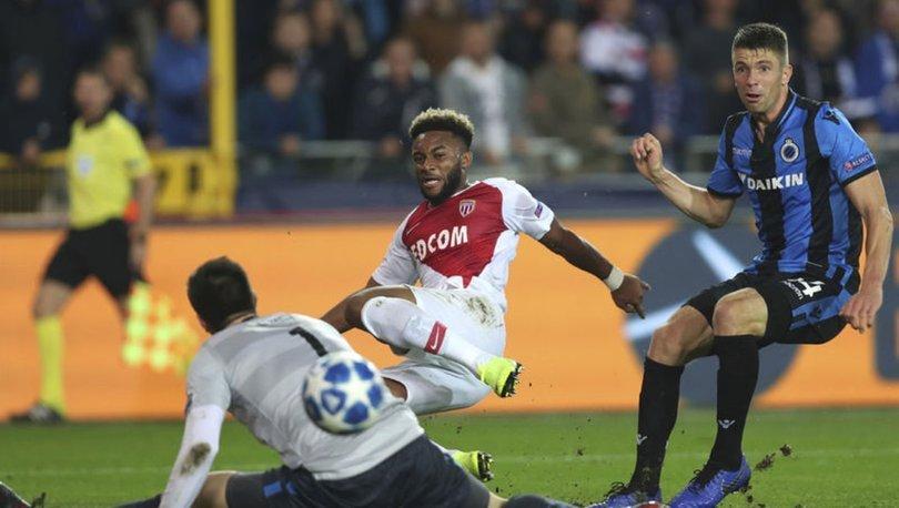 Club Brugge: 1 - Monaco: 1   MAÇ SONUCU