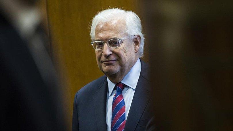 ABD'nin İsrail Büyükelçisi Friedman: İsrail'i savunmaktan çekinmeyen sağcı biriyim
