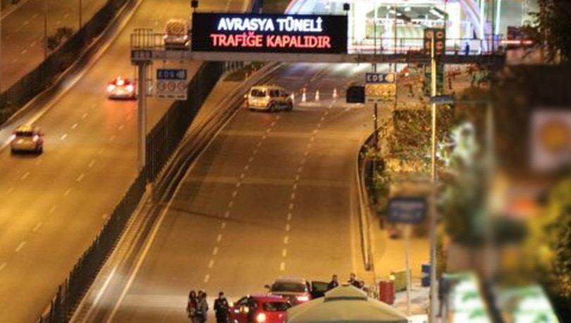 Avrasya Tüneli araç trafiğine açıldı