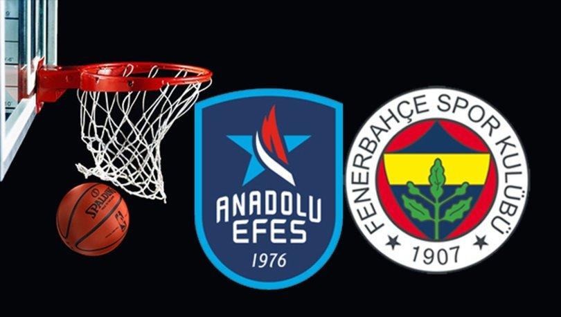 Anadolu Efes Fenerbahçe basketbol maçı hangi kanalda? Anadolu Efes Fenerbahçe maçı saat kaçta, ne zaman?